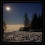 neige la nuit