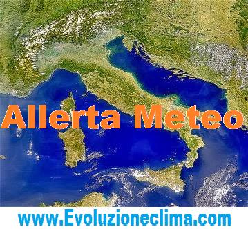 allerta meteo italia 36 ore